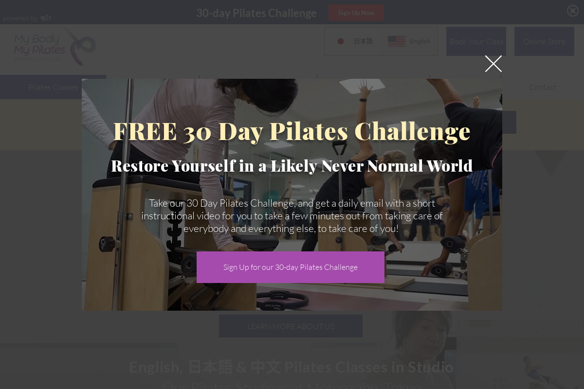 My Body My Pilates